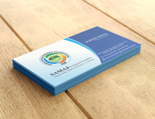 Samaj Development Foundation – Business Card